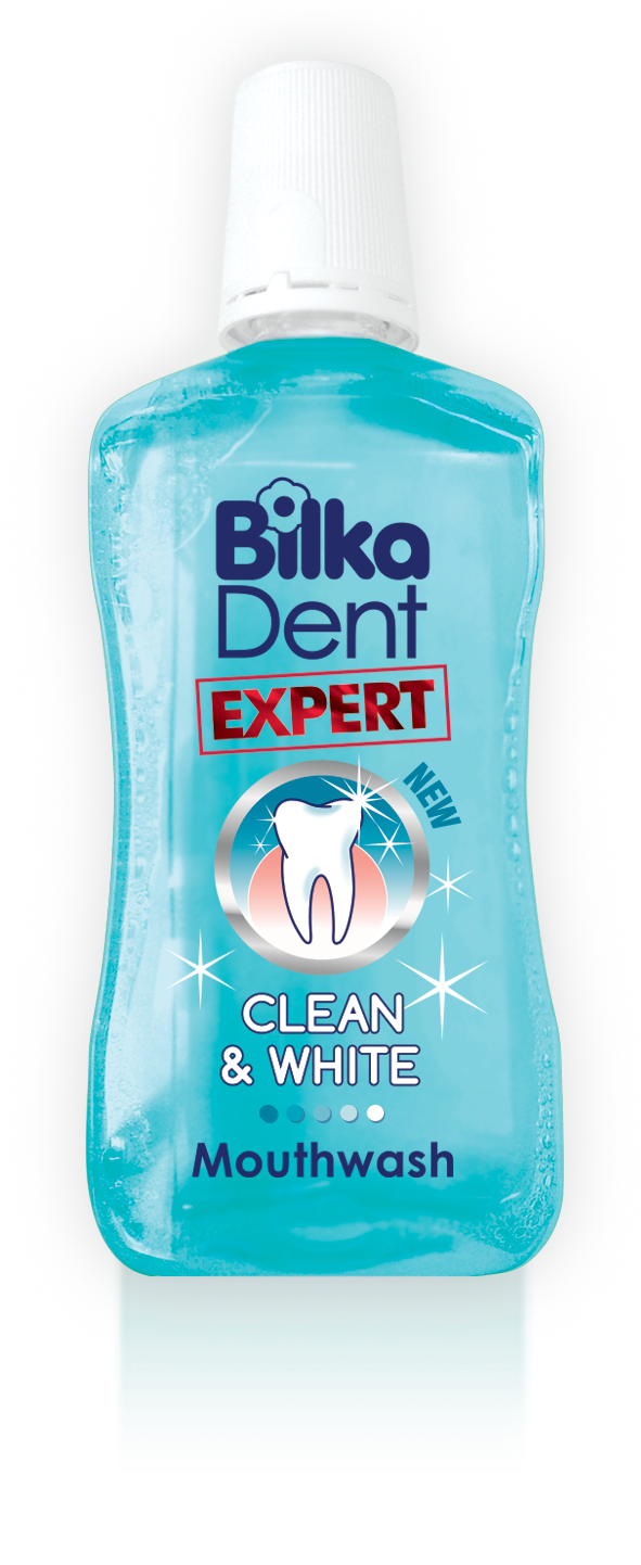 Bilka Dent Express Clean and White Ústna voda 500ml